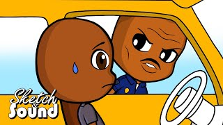 DAVE CHAPPELLE ANIMATED! - WHY BLACK PEOPLE HATE POLICE!