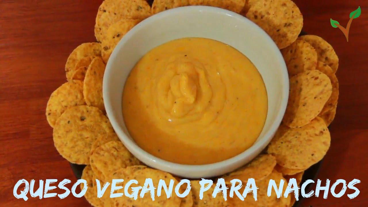 Queso Vegano Para Nachos Como Hacer Queso Vegano