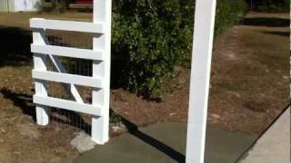 How To Build A Security Gate,part 4