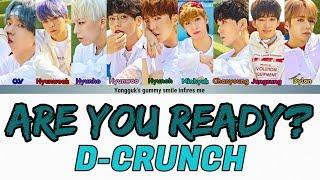 #작당모의 #areyouready? #dcrunch please support d-crunch comeback. follow me on instagram https://www.instagram.com/akgonn/ twitter https://twitter.com/akgonn cr...