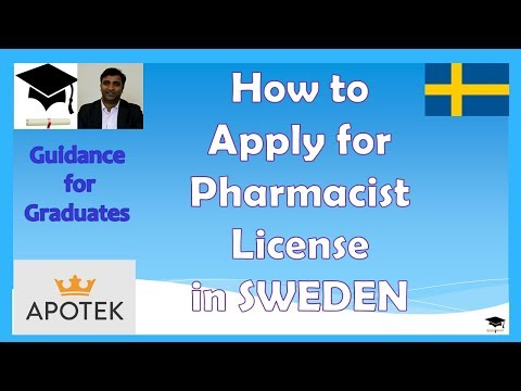 How to Become a Licensed Pharmacist in Sweden ? Study in Sweden