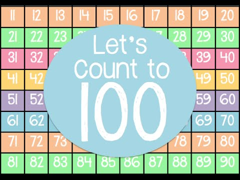 COUNT TO 100 ON 100 CHART