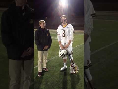 Lacrosse Post Game Interview vs Saint Vincent (PA.)