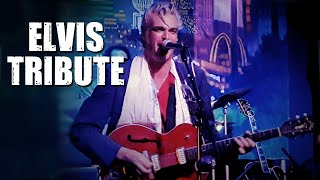 "Elvis Presley Tribute: ""Hound Dog"" ""Mystery Train"" by Mitch Polzak"