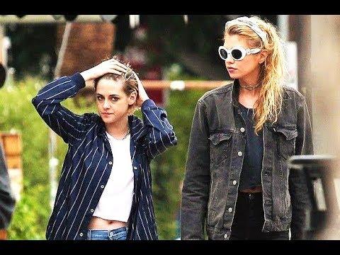 Kristen Stewart and Stella Maxwell In Los Angeles 2018
