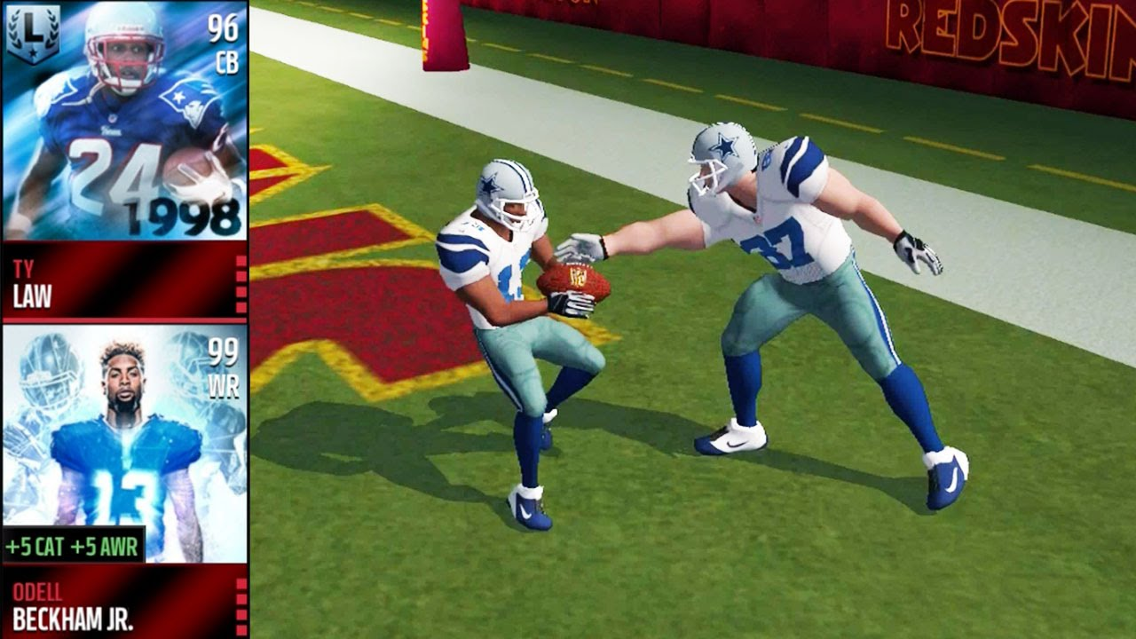 learn from the youtube video is a good way for play madden nfl mobile game like a pro