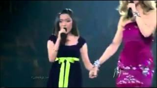 Celine Dion And Cherise 1