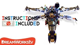 Bat X-Wing Lego Batman / Star Wars Mashup | INSTRUCTIONS NOT INCLUDED