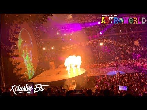 Travis Scott - Astroworld: Wish You Were Here Tour - Madison Square Garden - March 2nd 2019
