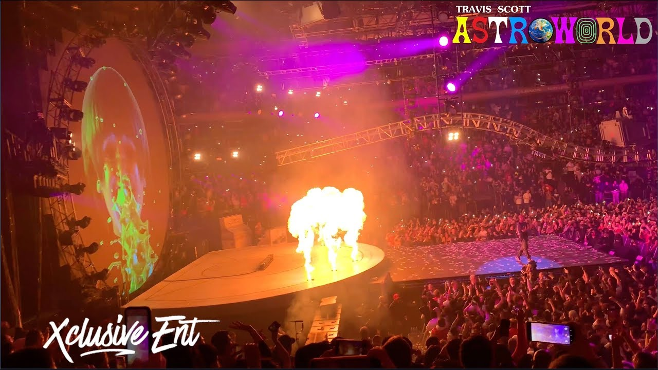 eb7ea0e0a601 Travis Scott - Astroworld: Wish You Were Here Tour - Madison Square Garden  - March 2nd 2019