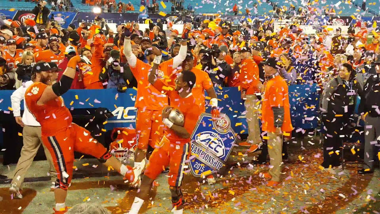 Image result for clemson wins acc championship