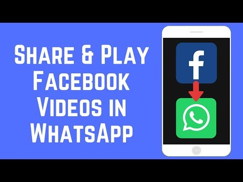 How to Share & Play Facebook Videos in WhatsApp on iOS