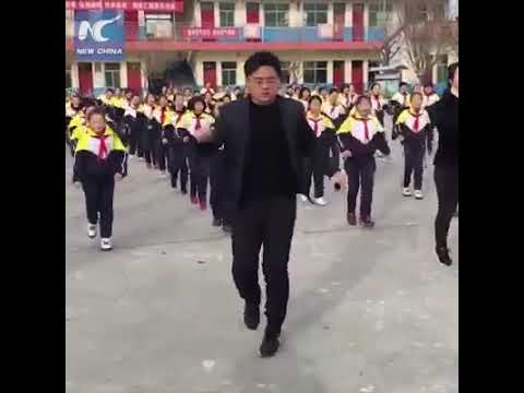 Great china primary school dancing
