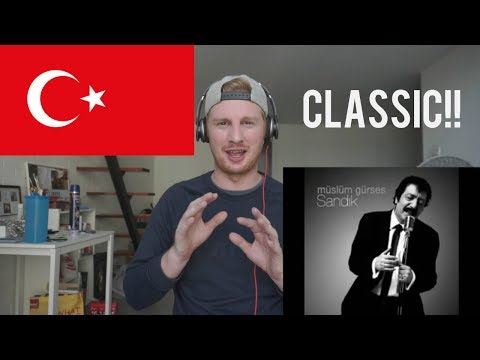 Müslüm Gürses - Affet // TURKISH MUSIC REACTION