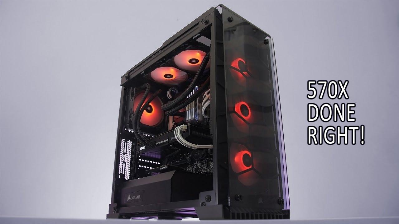Setup Refresh Episode 2 Corsair 570x Gaming Pc Build