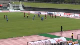 福島ユナイテッドFC対yscc横浜 吉田 明生選手のゴール