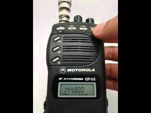 motorola gp68 test 09 10 2015 youtube rh youtube com Jabra Bluetooth Manual manual de radio motorola pro2150