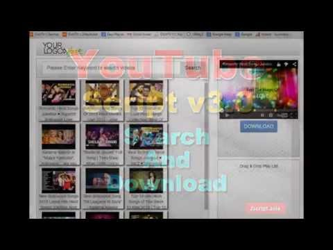 Youtube video Search engine php Script V3.00