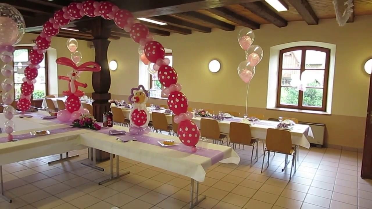 Decoration De Table Anniversaire  Ans