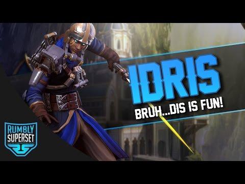 Vainglory Gameplay - Episode 310: BRUH...DIS IS FUN!! Idris |WP| Jungle Gameplay [Update 2.3]