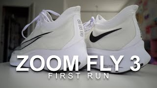 Zoom Fly 3 - First Run
