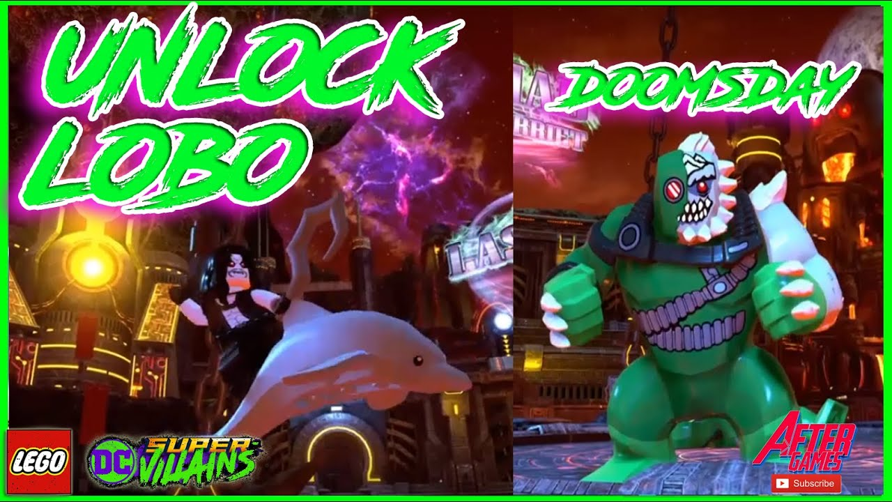 Lego Dc Super Villains Lobo And Doomsday Missions In Apokolips Ps4