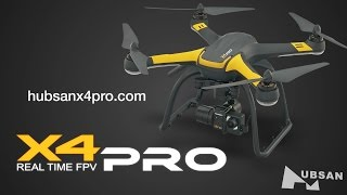 Hubsan X4 Pro Deluxe FPV Brushless Camera Drone RTF Video