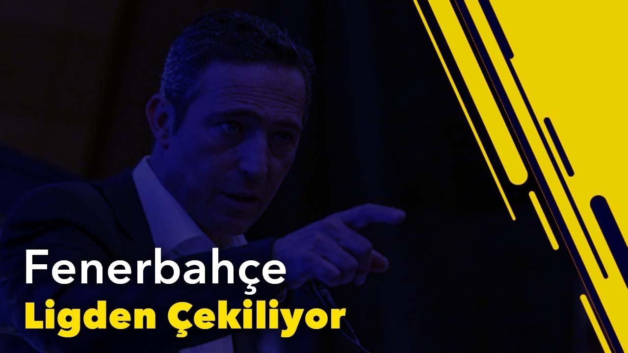 Fenerbahçe Ligden Çekiliyor