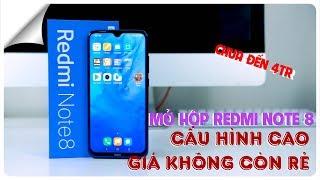 Mở hộp Redmi Note 8 - Dưới 4tr Snap 665 - Giá rẻ, cấu hình khủng nhất ĐÃ KHÔNG CÒN ĐÚNG với Xiaomi