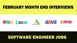 MNC Company interviews - Software Engineer jobs - Apply now.