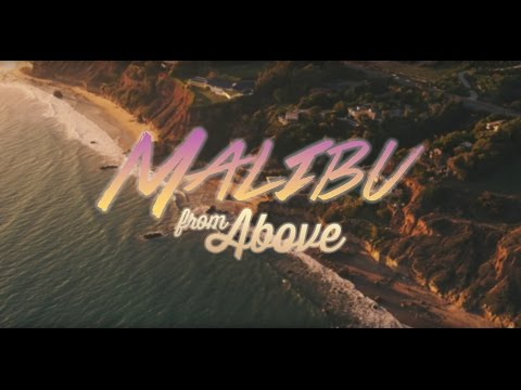 Malibu from Above - in 5K