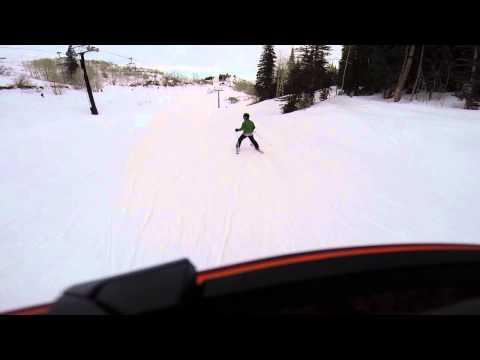 John Paino, skiing in Park City 3
