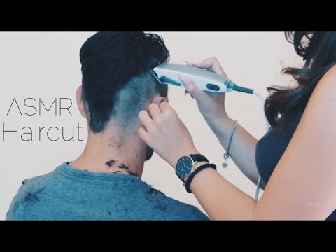 ✂️ ASMR HAIRCUT ROLEPLAY REAL PERSON ✂️- ROLEPLAY YOUR BARBER -