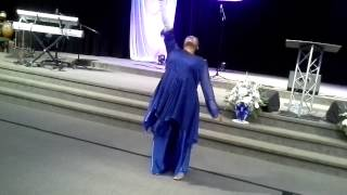 """Purpose Driven Life""Melinda Watts Praise Dance"