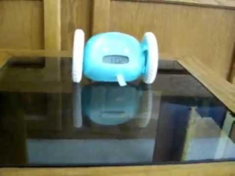 Clocky Alarm Alarm Alarm On Wheels In Aqua Blue Donu0027t Wait