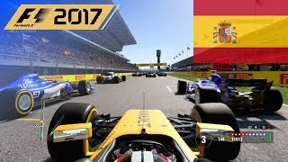 F1 - 2017 100% Race at Circuit de Barcelona Catalunya in Hülkenbergs Renault