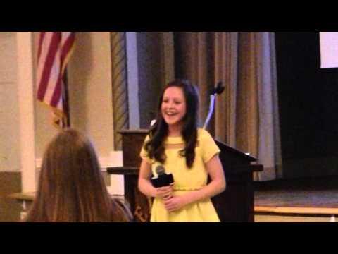 Abby Zeets sings