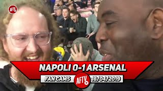 Napoli 0-1 Arsenal | I Believe In My Heart We Will Win The Europa League!