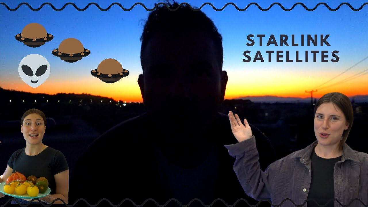 Οι δορυφόροι του Elon Musk, φτιάχνω μουτζέντρα και δοκιμάζω περίεργες ντομάτες | Vanessa Mi