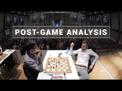 Carlsen and Anand