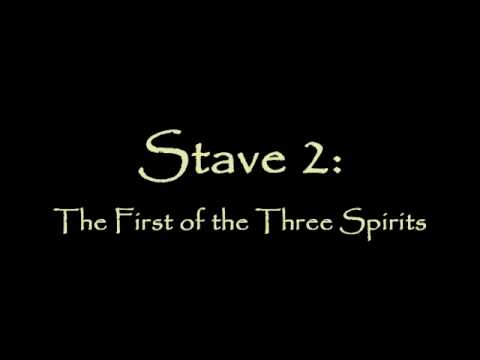 in stave two of a christmas In stave two scrooge is visited by the first of the three spirits marley's ghost told  him would come the spirit of christmas past takes scrooge to visit several.