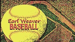 Earl Weaver Baseball (PC, 1987) - Video Game Years History