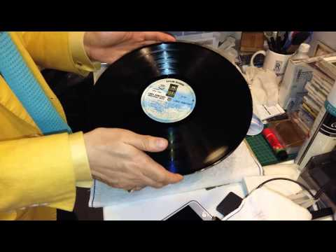 ASMR How to remove crackles from a badly used vinyl with WD-40? 如何除去舊唱片的【炒豆聲】?  www.recordmuseum.hk