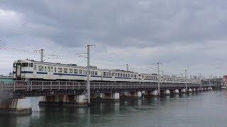 【JR九州】香椎線 オール九州色キハ40系 回送列車