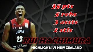 Rui Hachimura Highlights vs New Zealand | August 12, 2019 | Fiba World Cup Preparation
