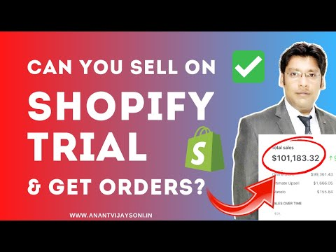 Can You Sell On Shopify Trial & Get Orders? Initial Amount To Start A Shopify Dropshipping Store?
