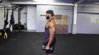 Brutal SHOULDER workout using Dumbbells   Full Routine Explained   sm people and blogs top tips