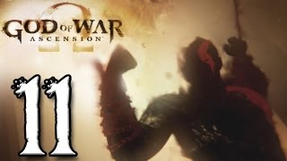 God of War Ascension Walkthrough Part 11 [HARD MODE] - Castor and Pollux Boss Battle (PS3/GAMEPLAY)