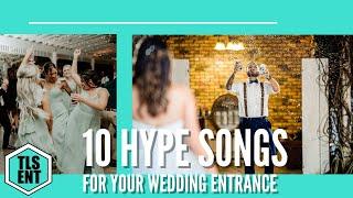 Wedding Tips | 10 Hype Wedding Intro Songs