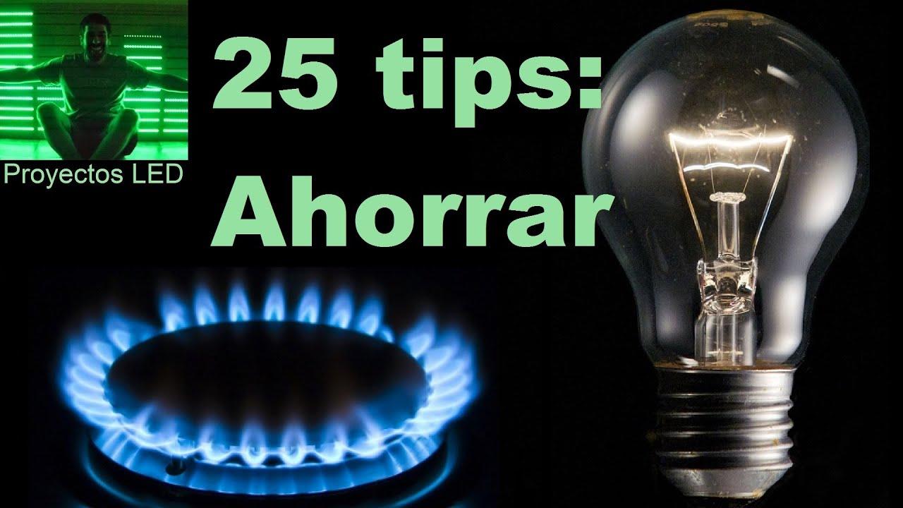 Como ahorrar energia consumo de luz y gas ahorro - Como ahorrar agua y luz ...